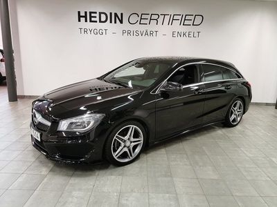 begagnad Mercedes CLA200 Shooting Brake - Benz AMG / / Backkamera / / Levereras nyservad