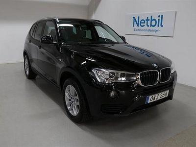 begagnad BMW X3 xDrive 2,0D 190hk