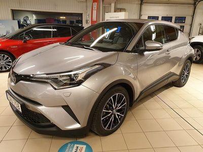 begagnad Toyota C-HR 1,8 Hybrid Executive Skinn JBL