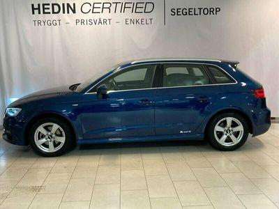 begagnad Audi A3 Sportback 1.4 TFSI S-Line auto S V-hjul 2016, Halvkombi Pris 179 000 kr