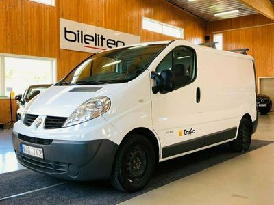 begagnad Renault Trafic Skåpbil 2.0 dCi Värmare inredd 114hk