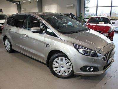 used Ford S-MAX Titanium 2,0 TDCi 180hk Automat 7-Sits - Dieselv (XP)