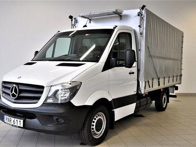 begagnad Mercedes Sprinter Benz 316 NGT Flak Lyft 2015, Transportbil 286 250 kr