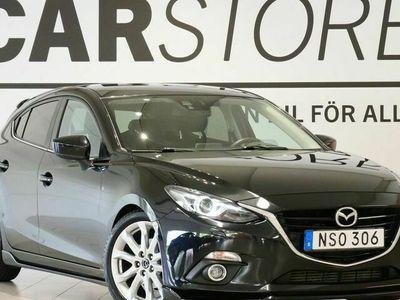 begagnad Mazda 3 Sport 2.2-D Optimum GPS Skinn Bose 150hk