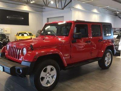 brugt Jeep Wrangler Unlimited 3.8 V6 199Hk 4WD -10