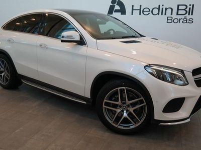 begagnad Mercedes GLE350 // AMG Line // Bränslevärmare // Harman/Kardon // Adaptivfarthållare // El-Stolar // Dragkrok //