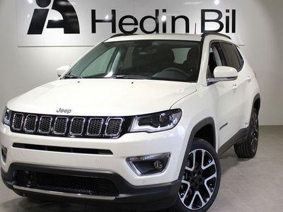 begagnad Jeep Compass 1,4 TURBO 170HK AWD 9-steg aut PANORAMATAK LIMITED 2019
