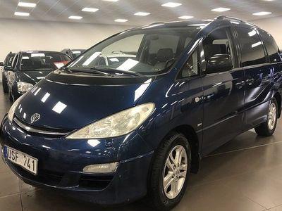 begagnad Toyota Previa 2,4 7-sits Nav.