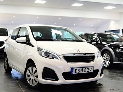 begagnad Peugeot 108 5-dörrar 1.0 VTi 68hk