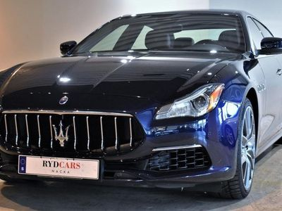 begagnad Maserati Quattroporte GRANLUSSO 3.0D SV-SÅLD