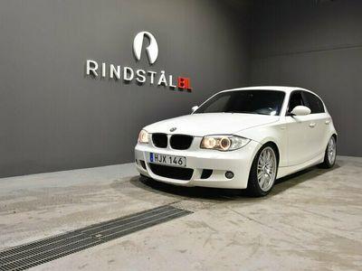 begagnad BMW 120 d 177 HK KAMKEDJA M-SPORT E87 S&V-DÄCK