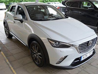 begagnad Mazda CX-3 2,0L 120hk Bensin Man Nav HUD Keyless FWD Drag