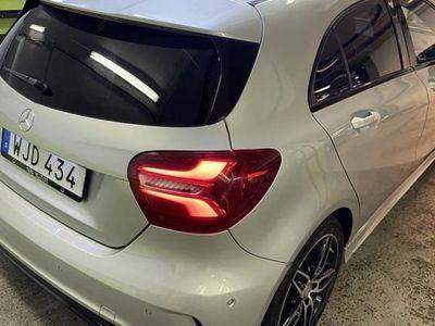 begagnad Mercedes A200 d AMG Sport, Exclusive