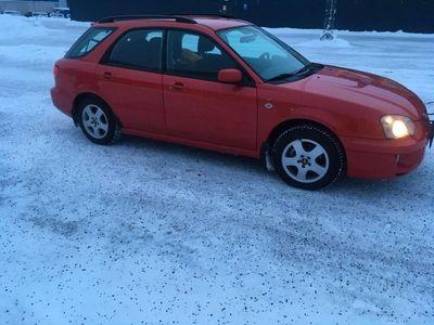 begagnad Subaru Impreza Kombi 2.0 GX 4WD 125hk Nybes Lågmilare