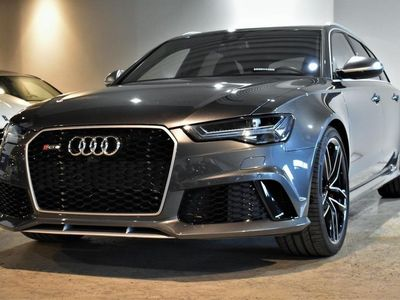 begagnad Audi RS6 560Hk MOMS FACELIFT SE SPEC PANORAMA