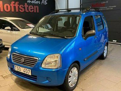 begagnad Suzuki Wagon R+ 1.3 1 ägare 2003, Halvkombi Pris 16 900 kr