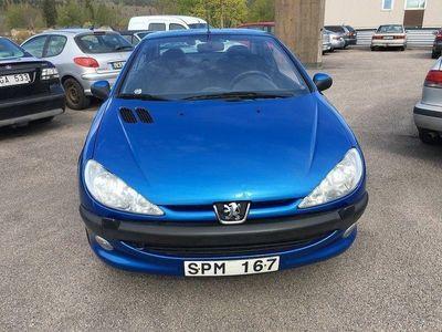 begagnad Peugeot 206 CC 1.6 109hk,Ny besiktigad,Ny Kam