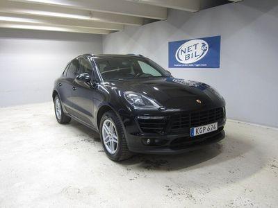 begagnad Porsche Macan S PDK 258hk Nyservad / Pano