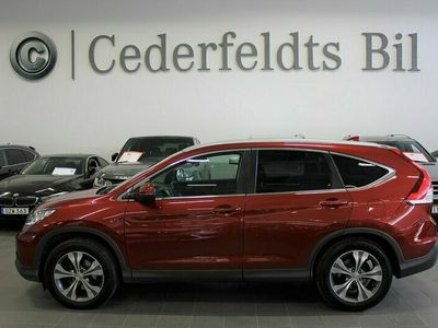begagnad Honda CR-V 2.2 4WD EXECUTIVE GPS FJÄRRVÄRME DRAG AUTO 150hk