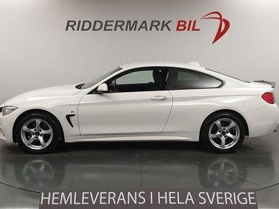 begagnad BMW 420 d xDrive Navi M Sport HiFi Eu6 190hk