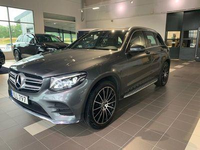 "begagnad Mercedes GLC250 4M 4MATIC AMG 20"" luftfjädring"