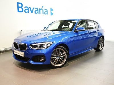 begagnad BMW 120 d xDrive M-Sport Connected Innovation -19