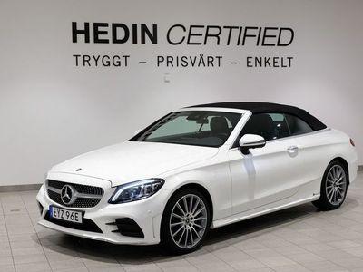 begagnad Mercedes C200 Cabriolet/AMG/2 ÅRS NYBILSGARANTI!