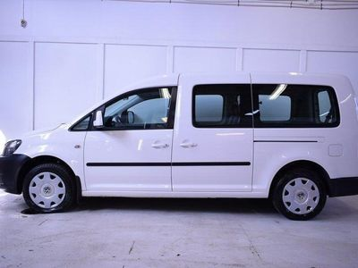 brugt VW Caddy Maxi Life 1.6 TDI DSG 102hk 5-Sits / Krok
