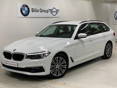 begagnad BMW 520 d Touring Aut Sportline   HiFi   Rattuppvärmning