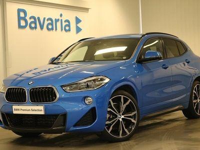 begagnad BMW X2 xDrive20d xDrive 20d M sport Innovation pkt Drag Panorama glastaklucka