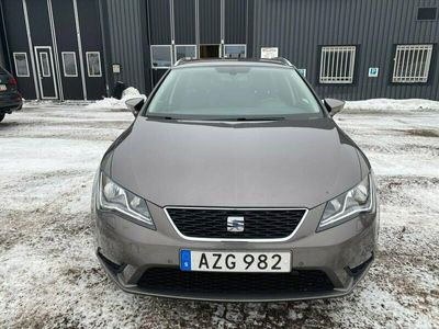 begagnad Seat Leon ST 1.6 TDI 4Drive / Drag / En Ägare /0:- KONTANT
