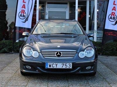 begagnad Mercedes C230 Kompressor Sportcoupé 5G-Tronic Sport 192hk