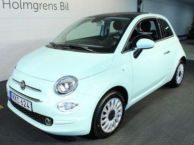 begagnad Fiat 500 1.2 Lounge Carplay/ Nav/ Låga mil/ M+S