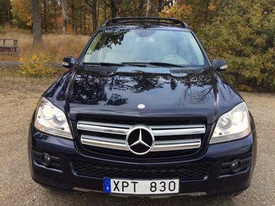 begagnad Mercedes GL450 4MATIC BLÅ -09
