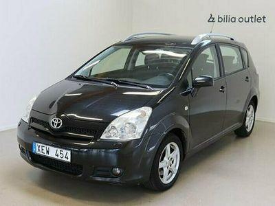 begagnad Toyota Corolla Verso 1.8 7-sits Drag