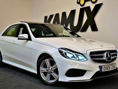 begagnad Mercedes E250 E Benz4matic | AMG Sport | Panorama | Värmare | GPS 2015, Sedan 274 900 kr