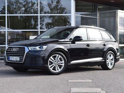 begagnad Audi Q7 3.0 TDI S-LINE LUFTFJÄDRING 7-SITS