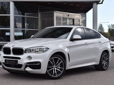 begagnad BMW X6 m50d 381hk taklucka värmare