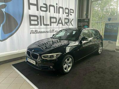 begagnad BMW 118 d 5-door Steptronic Sport line Euro 6 150hk