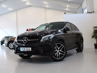 begagnad Mercedes 350 GLE Benzd 4MATIC Coupé AMG 2016, SUV 544 900 kr
