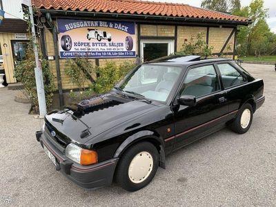 begagnad Ford Escort 1.6 Ej Rost Låg Mil Ny Besiktad -89