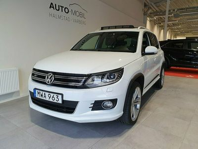 begagnad VW Tiguan 2.0 TDI 4MOTION DSG 184HK R-LINE VÄRMARE