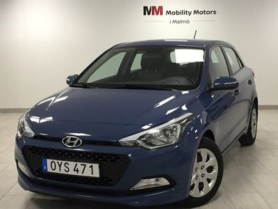 begagnad Hyundai i20 1.2 Halvkombi 2016, Halvkombi 89 900 kr