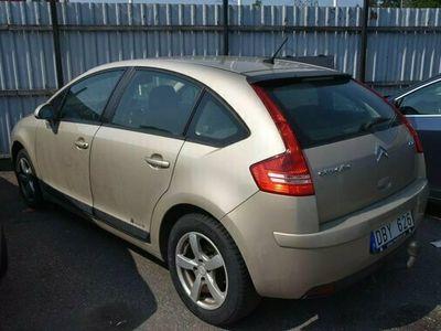begagnad Citroën C4 1.6 HDI (110hk) Nybes/Automat/Drag/Defekt/Sv-Såld