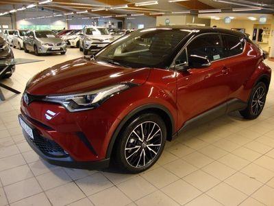 usata Toyota C-HR 1.8 HSD X-edition skinn JBL Teknik-pkt Bitone