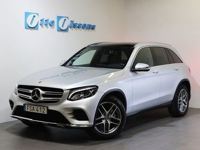 begagnad Mercedes GLC220 D 4-Matic AMG Aut, Nav, Panorama, Drag