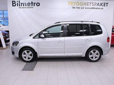 begagnad VW Touran TDI 105 DSG AUTOMAT