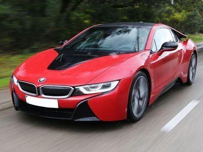begagnad BMW i8 protonic red edition -17