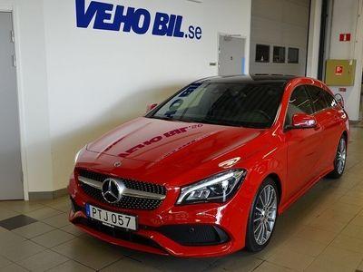 begagnad Mercedes CLA220 Shooting Brake d AMG Line, Panorama, Navigation