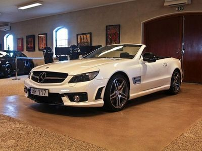begagnad Mercedes SL63 AMG AMG Driver & Preformance Package!